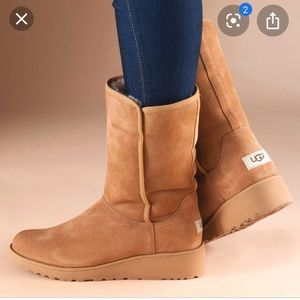 Authentic UGG Amie Slim Boots Water Resistant